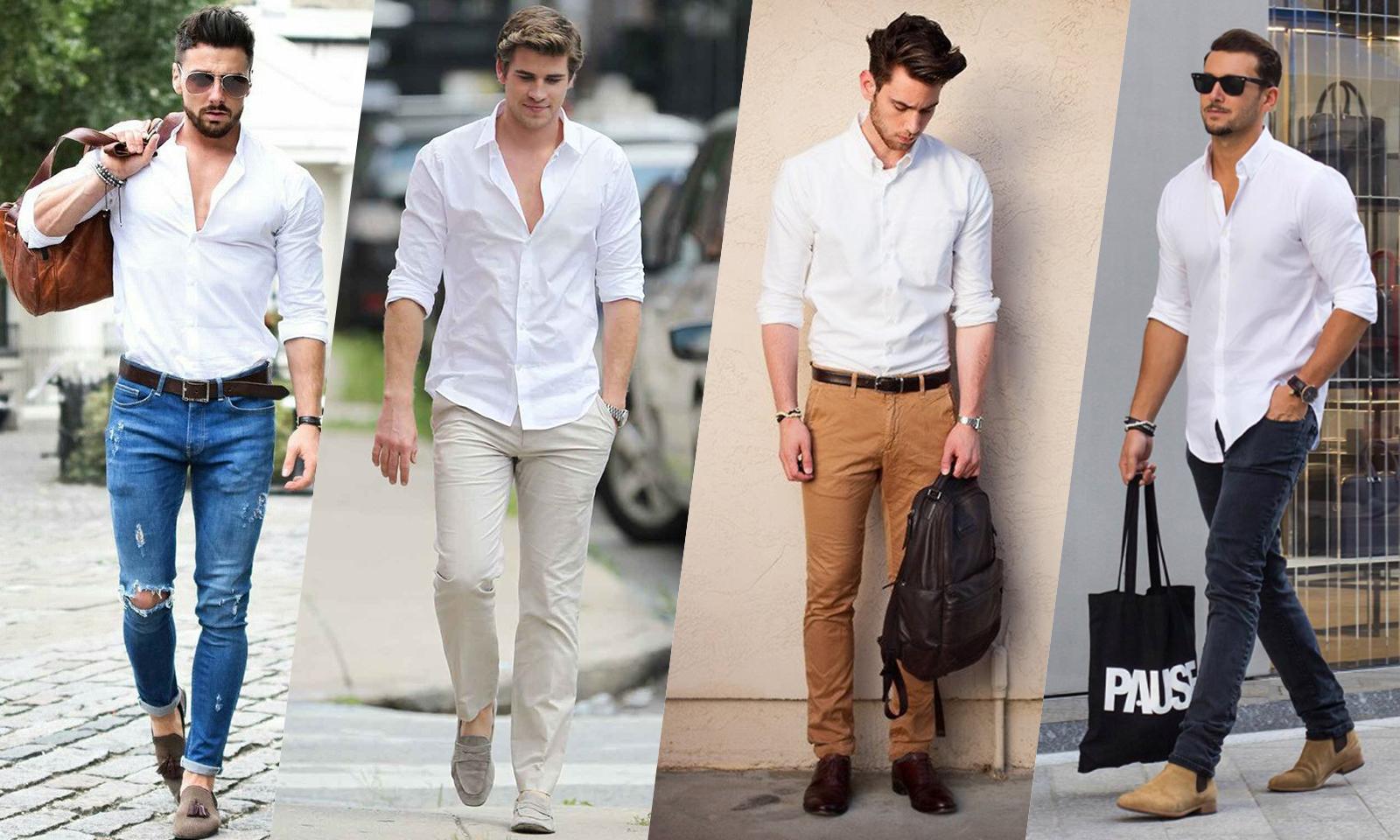 chemise blanche pas cher
